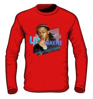 Longsleeve z nadrukiem Lil Wayne