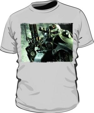 Koszulka z nadrukiem Fallout