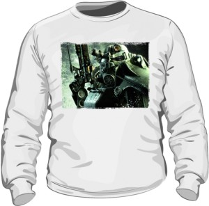 Bluza z nadrukiem Fallout