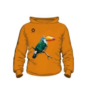 Tukan bluza z kapturem