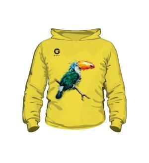 Tukan bluza dziecięca z kapturem