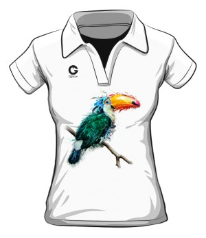 Tukan koszulka polo damska
