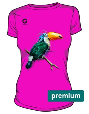 Tukan Tshirt damski premium