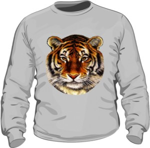 Bluza Tiger Woman Grey