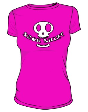 Koszulka Logo Przód D Róż 010