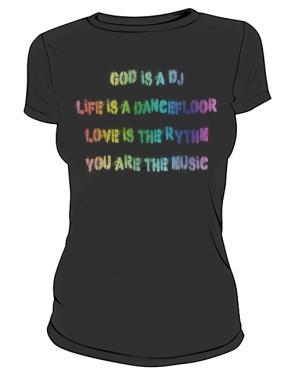Koszulka Napis Kolor D Cza 002