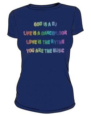 Koszulka Napis Kolor D Gr 003