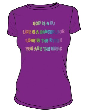 Koszulka Napis Kolor D F 004