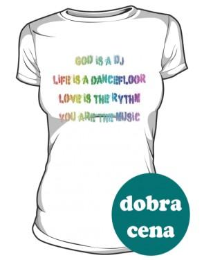 Koszulka Napis Kolor D B 001