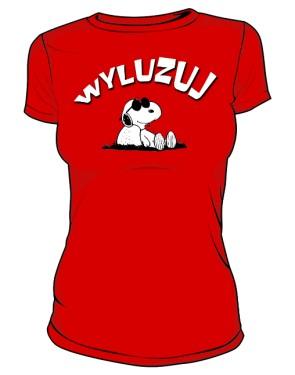Koszulka Wyluzuj D Cze 001