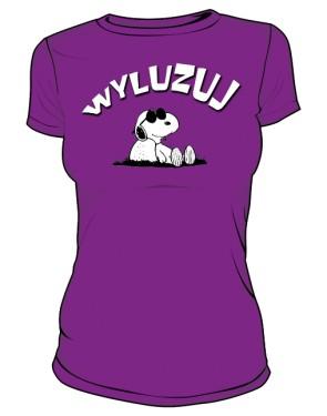 Koszulka Wyluzuj D F 004