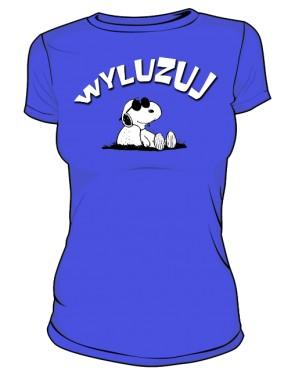 Koszulka Wyluzuj D Ni 005