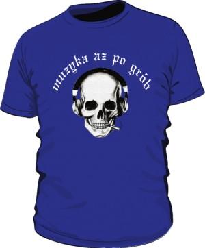 Koszulka Czacha Biały Napis M Ni 004