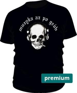 Koszulka Prem Czacha B Napis M Cza 001