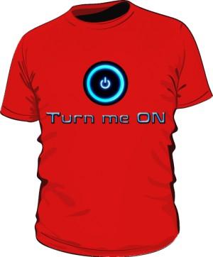 Koszulka Turn Me On M Cze 002