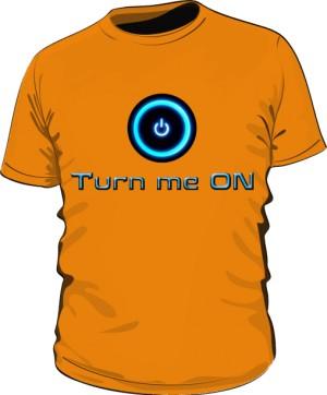 Koszulka Turn Me On M Pom 004