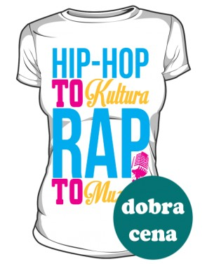 Hip Hop to kultrura Rap to muzyka