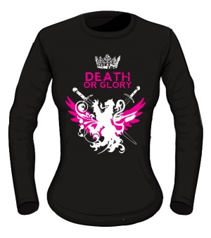 Damski long sleeve Royal Death Glory