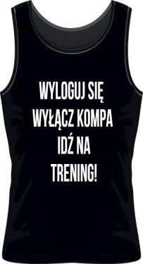 Trening Męska Koszulka Sportowa