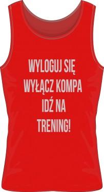 Trening Męska Koszulka Sportowa kolor