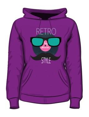 Muzyczna Bluza Retro color