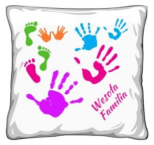Poduszka Wesoła Familia Color