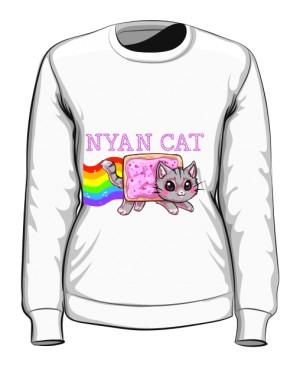 Bluza Nyan Cat Damska