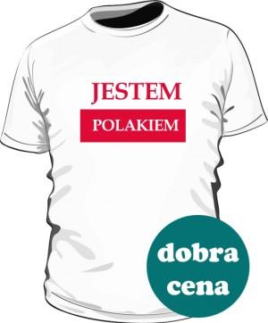 Koszulka męska Jestem Polakiem