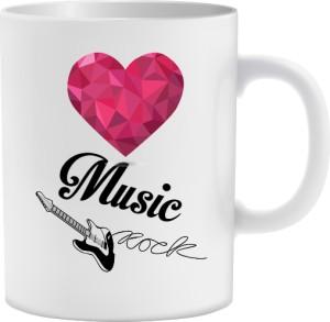 Love Music Rock kubek