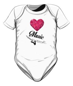 Body dziecięce Love Rock Music
