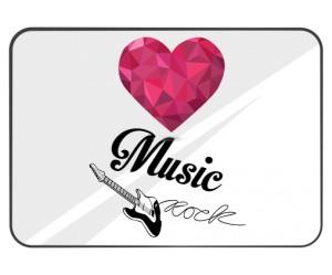podkładka pod mysz I Love Rock Music