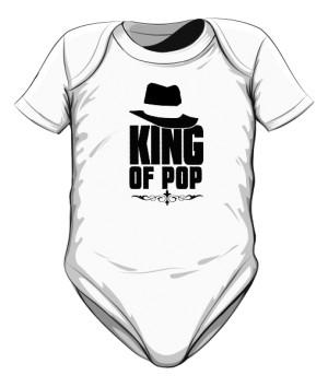 King Of Pop body dziecięce