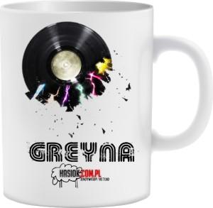 Zawiera logo GREYNA i HASIOK