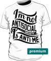 Kolorowa koszulka slim z nadrukiem 149634
