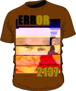 Koszulka Error 2137 Brązowa