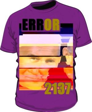 Koszulka Error Fioletowa