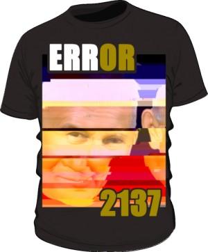 Koszulka Error Czarna