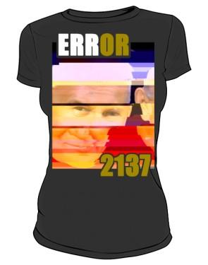 Koszulka Error Czarna FEMKA