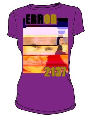 Koszulka Error Fioletowa FEMKA