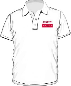 Koszulka Polo Jestem Polakiem