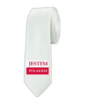 Krawat Jestem Polakiem