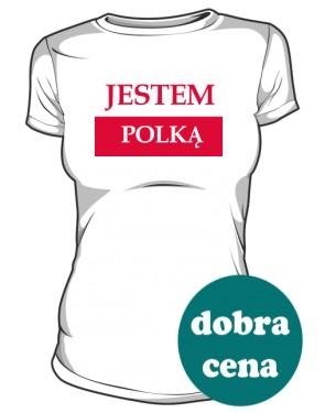 Koszulka damska Jestem Polką