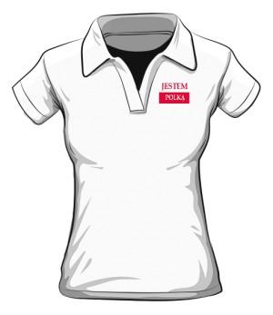Koszulka Polo Jestem Polką