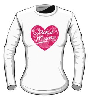 Bluzka damska Spoko Mama w sercu