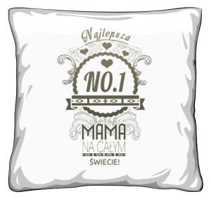 Mama NO 1 prezent poduszka