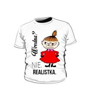 Koszulka dziecko Mała Mi Realistka