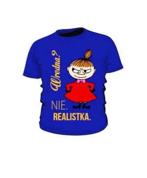 Koszulka kolor  Mała Mi Realistka