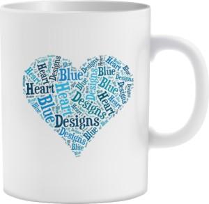 Błękitne  Serce Kubek