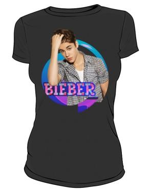 Koszulka Justin Bieber czarna