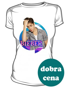 Koszulka Justin Bieber biała